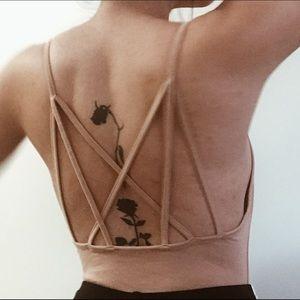 Tops - Nude Bodysuit
